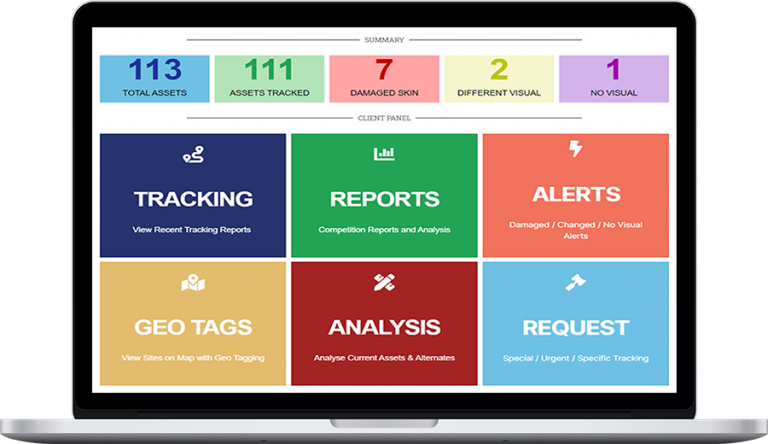Tracking Client Dashboard